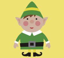 Mr green elf Kids Tee