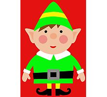 Mr green elf Photographic Print