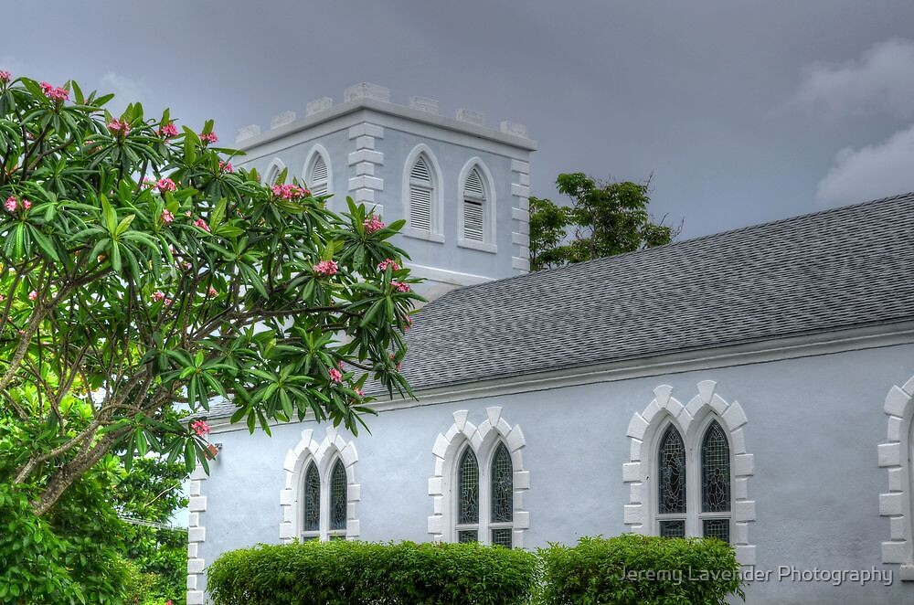 St Anne Church in Foxhill - Nassau, The Bahamas by Jeremy Lavender Photography