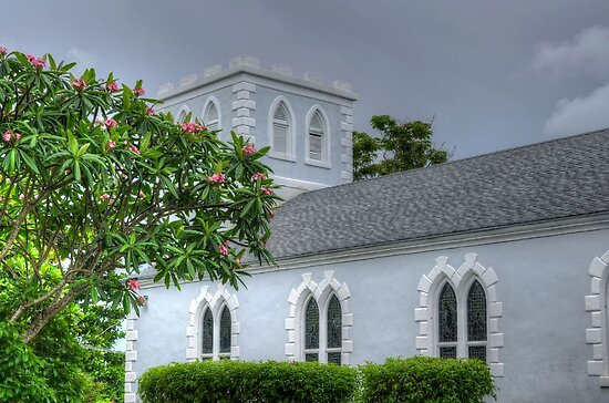 St Anne Church in Foxhill - Nassau, The Bahamas by 242Digital