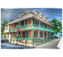 International House in Downtown Nassau, The Bahamas Poster