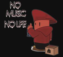 No Music No Life by FC Designs