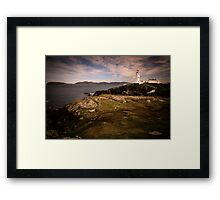 Fanad Head Lighthouse - Donegal Ireland Framed Print