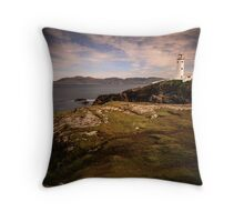Fanad Head Lighthouse - Donegal Ireland Throw Pillow