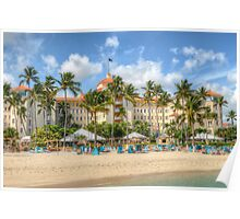 Colonial Hilton Hotel in Nassau, The Bahamas Poster