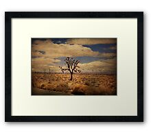 As We Go Down Life's Lonesome Highway Framed Print
