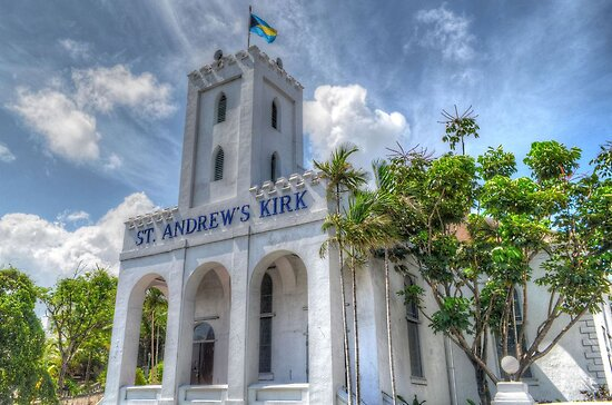 St Andrew's Church in Nassau, The Bahamas by Jeremy Lavender Photography