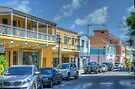 Market Street in Downtown Nassau, The Bahamas by Jeremy Lavender Photography