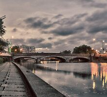 A VIEW TO A BRIDGE by Rob  Toombs