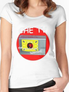 Che tv Women's Fitted Scoop T-Shirt