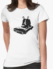 Sam and Dean Womens Fitted T-Shirt