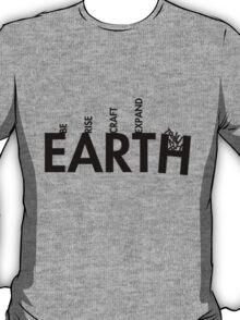 99 Steps of Progress - Calligram T-Shirt