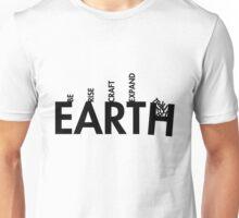 99 Steps of Progress - Calligram Unisex T-Shirt