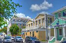 East Street in Downtown Nassau, The Bahamas by 242Digital