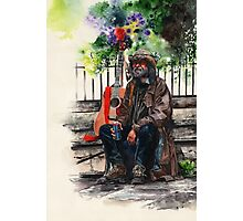 Glastonbury Man Photographic Print