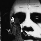 Girl in Hosier Lane by Andrew  Makowiecki