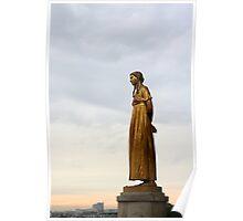 Trocadéro, Paris Poster