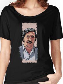 Pablo Escobar Women's Relaxed Fit T-Shirt