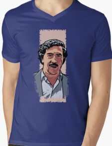 Pablo Escobar Mens V-Neck T-Shirt