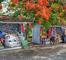 Tourist Shops at Fort Charlotte in Nassau, The Bahamas by Jeremy Lavender Photography