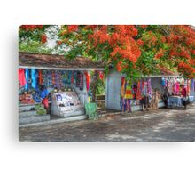 Tourist Shops at Fort Charlotte in Nassau, The Bahamas Canvas Print