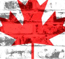 Canada Flag Vintage Sticker
