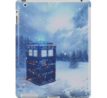 Tardis in Winterland iPad Case/Skin