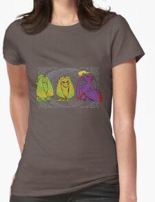 Khaleesis's Monkeys Womens Fitted T-Shirt