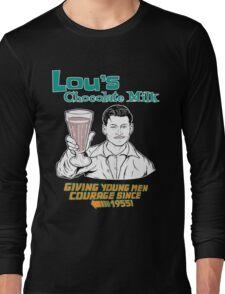 Lou's Milk (Chocolate) Long Sleeve T-Shirt