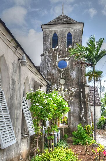 St. Francis Xavier Catholic Cathedral in West Street - Nassau, The Bahamas by Jeremy Lavender Photography