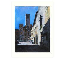 Untitled 7 - città toscane Art Print