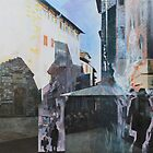 Untitled 8 - città toscane by Richard Sunderland