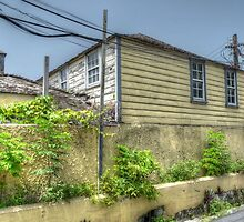 Old house at the corner of West Hill Street and Blue Hill Road in Nassau, The Bahamas by Jeremy Lavender Photography