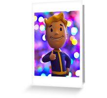 Pip Boy Greeting Card