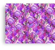 Floral Pinks Canvas Print