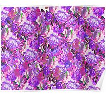 Floral Pinks Poster