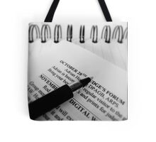 Keep with the Programme... Tote Bag