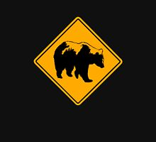 Grizzly road sign Unisex T-Shirt