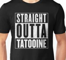 STRAIGHT OUTTA COMPTON - TATOOINE - STAR WARS  Unisex T-Shirt
