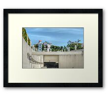 The Tunnel & Harbour Village at Paradise Island in The Bahamas Framed Print