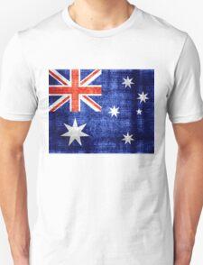 Australia Flag Vintage T-Shirt