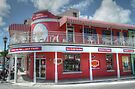 Ice Cream Parlor on Bay Street in Downtown Nassau, The Bahamas by Jeremy Lavender Photography
