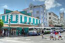 Bay Street & George Street in Downtown Nassau, The Bahamas by Jeremy Lavender Photography