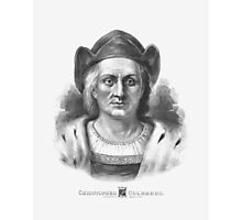 Italian Explorer Christopher Columbus  Photographic Print