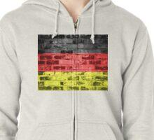 Germany Flag Vintage Zipped Hoodie