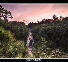 An Evening in Paradise || Falls of Clyde, Scotland by Anir Pandit