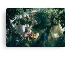 Boaring down upon you Canvas Print