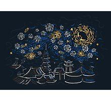 Ninja Starry Night Photographic Print