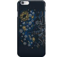 Ninja Starry Night iPhone Case/Skin