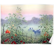 Tomatoes in the Mist Poster